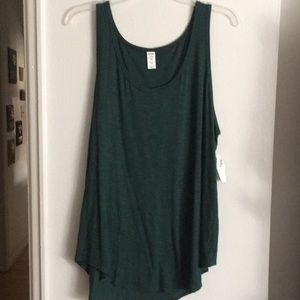👒3/$17👒 NWT Green Old Navy Luxe Tank Top